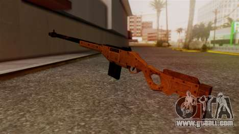 A Police Marksman Rifle for GTA San Andreas second screenshot