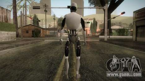 I am a Robot Skin for GTA San Andreas third screenshot