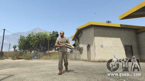 GTA 5 Halo UNSC: Assault Rifle second screenshot