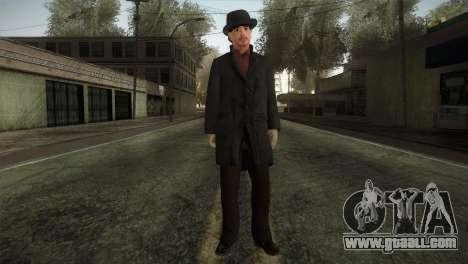 Sherlock Holmes v2 for GTA San Andreas second screenshot