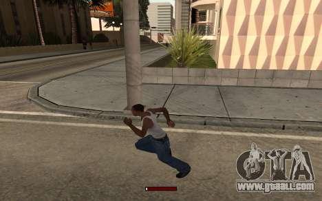 SprintBar for GTA San Andreas third screenshot