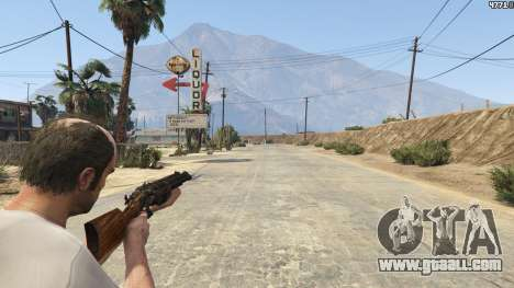 GTA 5 Mob of the Dead Blundergat third screenshot