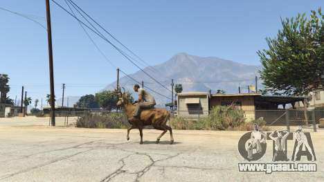 GTA 5 Ride A Deer [.NET] 0.2b