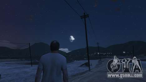 GTA 5 DeathStar Moon v3 Incomplete Deathstar third screenshot