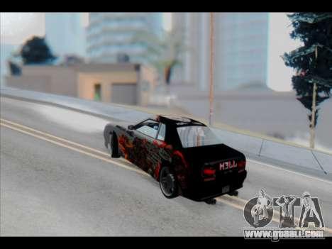 Elegy Lumus for GTA San Andreas engine