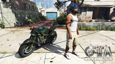 GTA 5 Switch helmet v0.2 second screenshot