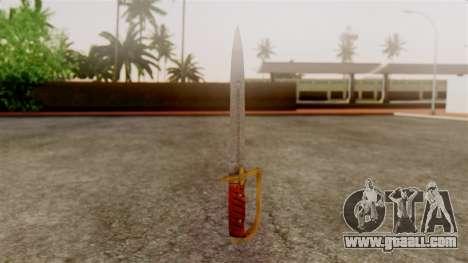 GTA 5 Antique Cavalry Dagger v1 for GTA San Andreas second screenshot