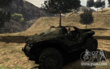 UNSC M12 warthog from Halo Reach for GTA 4
