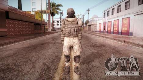 Armored Soldier for GTA San Andreas second screenshot