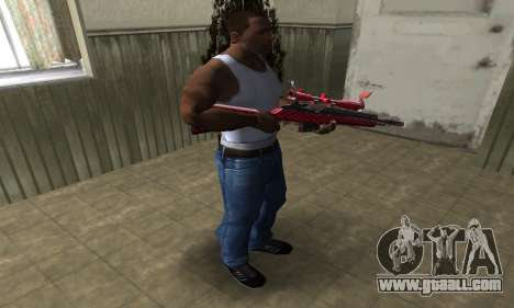 Red Romb Sniper Rifle for GTA San Andreas third screenshot