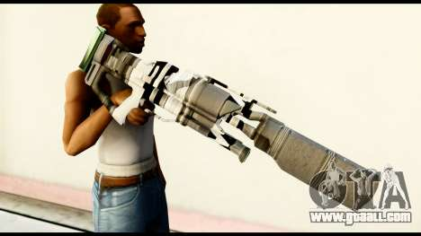 Rocket Launcher from Crysis 2 for GTA San Andreas third screenshot