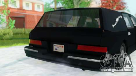 Premier Hearse for GTA San Andreas right view
