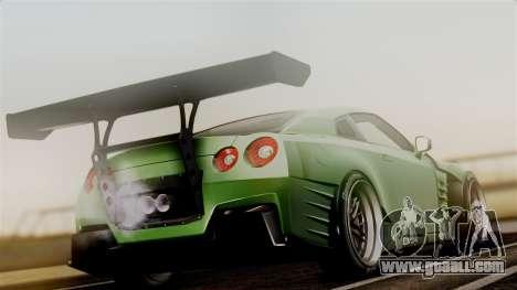 Nissan GT-R R35 Bensopra 2013 for GTA San Andreas left view