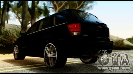 Jeep Grand Cherokee SRT8 Restyling M Final for GTA San Andreas left view