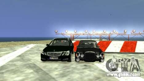 Mercedes-Benz E-Class 2015 Norwegian Police for GTA 4 bottom view