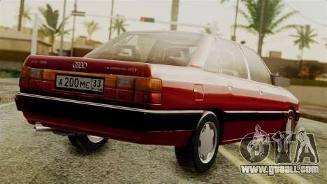 Audi 200 Quattro for GTA San Andreas left view