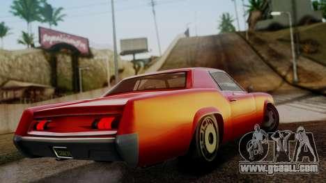 GTA 5 Albany Virgo for GTA San Andreas left view