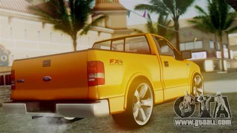 Ford F-150 Sport for GTA San Andreas left view