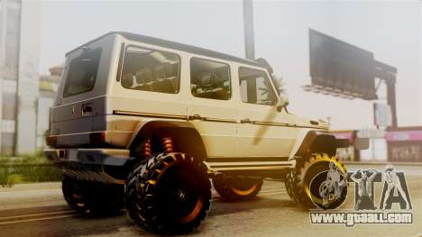 Mercedes-Benz G500 4x4 for GTA San Andreas left view