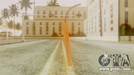 Red Dead Redemption TNT Sergio for GTA San Andreas