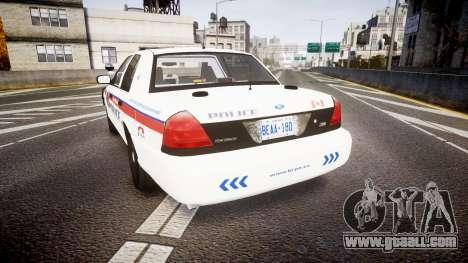 Ford Crown Victoria Bohan Police [ELS] WL for GTA 4 back left view