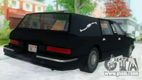 Premier Hearse for GTA San Andreas left view