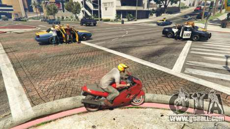 GTA 5 Police Chase Random Event second screenshot