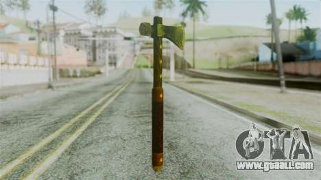 Tomahawk from Silent Hill Downpour for GTA San Andreas second screenshot