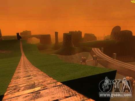 Green desert Las Venturas v2.0 for GTA San Andreas third screenshot