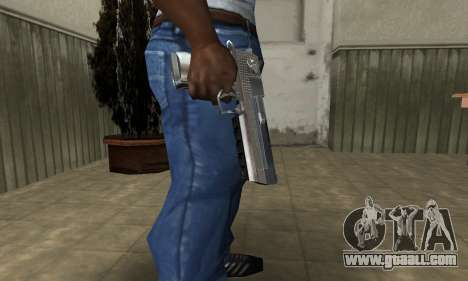Cool Silver Deagle for GTA San Andreas second screenshot