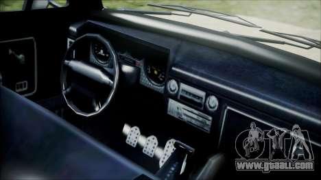 GTA 5 Vapid Slamvan for GTA San Andreas right view