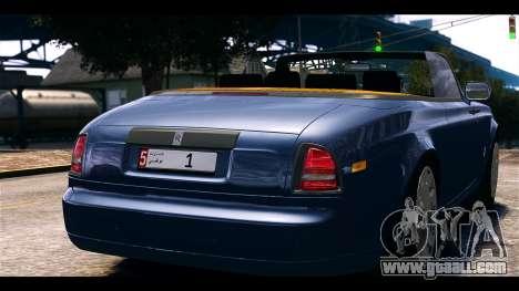 Rolls-Royce Phantom 2013 Coupe v1.0 for GTA 4 back left view