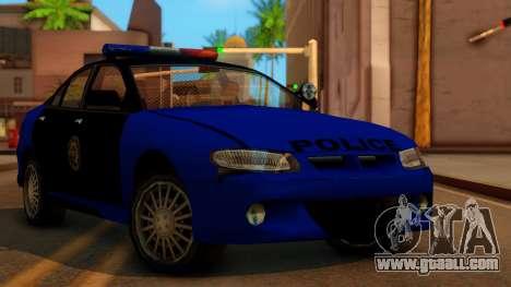 Police HSV VT GTS SA Style for GTA San Andreas