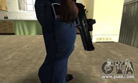 Blue Deagle for GTA San Andreas