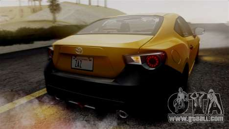 Toyota GT86 PJ for GTA San Andreas side view