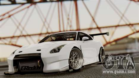 Nissan GT-R R35 Bensopra 2013 for GTA San Andreas side view