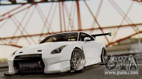 Nissan GT-R R35 Bensopra 2013 for GTA San Andreas side view