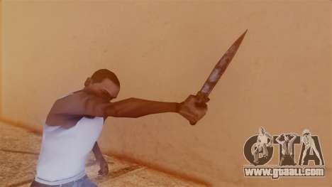 Nurse Knife for GTA San Andreas third screenshot