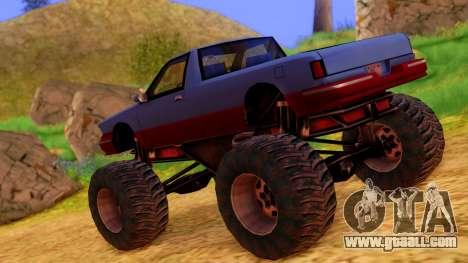 Premier Monster for GTA San Andreas left view
