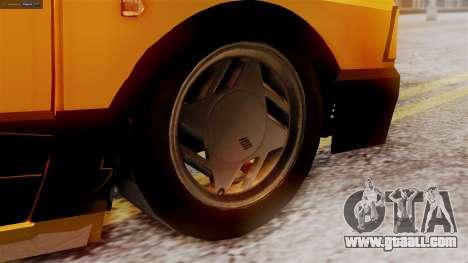Fiat 147 Al Piso for GTA San Andreas back left view