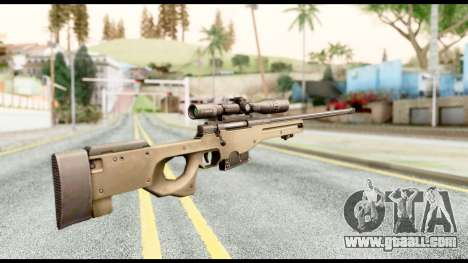 AWM L115A1 for GTA San Andreas second screenshot