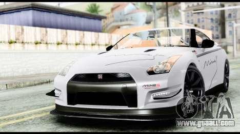 Nissan GT-R R35 2012 for GTA San Andreas