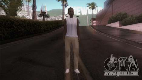 Lady Barber for GTA San Andreas second screenshot