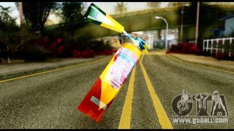 Brasileiro Fire Extinguisher for GTA San Andreas