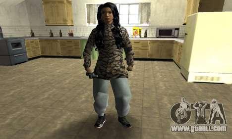 Cool Tokio Girl for GTA San Andreas
