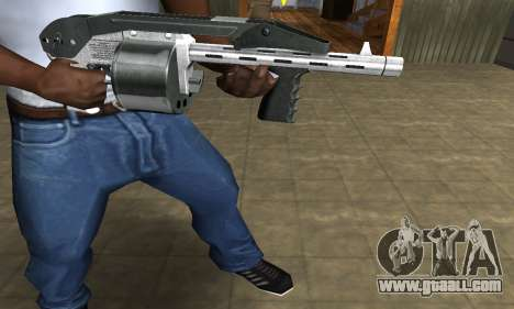 Silver Granate Combat Shotgun for GTA San Andreas second screenshot