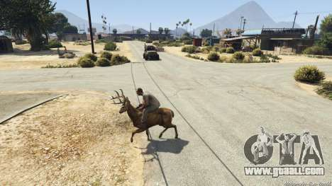 GTA 5 Ride A Deer [.NET] 0.2b sixth screenshot