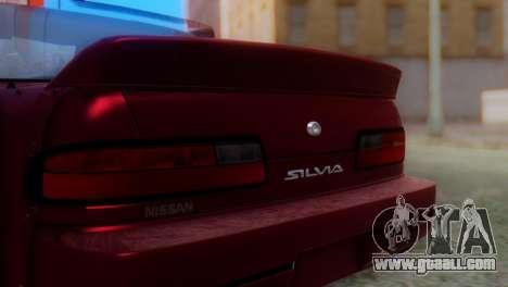 Nissan Silvia S13 Shakotan for GTA San Andreas back view