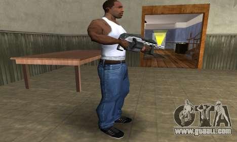 Silver Granate Combat Shotgun for GTA San Andreas third screenshot