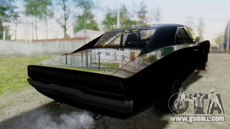 Dodge Charger RT 1970 Fast & Furious for GTA San Andreas left view